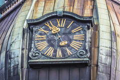 Il san Peters Church è una chiesa luterana alta a Riga, Lettonia Fotografia Stock Libera da Diritti