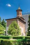 Il san principesco Nicholas Church la più vecchia chiesa in Iasi Immagine Stock