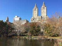 Il San Remo dal Central Park, NYC fotografie stock libere da diritti