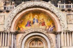 Il san segna la basilica, Venezia Immagini Stock