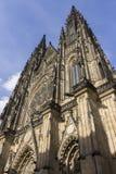 Il san Vitus Cathedral, Praga Fotografia Stock