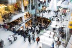 Il santo Stefano è il giorno di acquisto più occupato dell'anno Immagini Stock