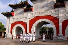 Il santuario dei martiri rivoluzionari nazionali in Taipei immagini stock libere da diritti