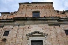 Il santuario del delle Grazie di Madonna in Italia immagine stock