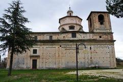 Il santuario del delle Grazie di Madonna in Italia fotografia stock