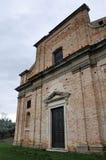 Il santuario del delle Grazie di Madonna in Italia immagini stock