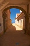 Il santuario del monastero di Nossa Senhora fa la chiesa di Cabo vicino a capo E Fotografia Stock Libera da Diritti