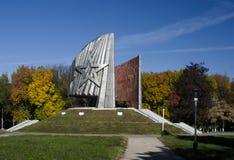 Il santuario del ricordo ai soldati caduti Fotografia Stock Libera da Diritti