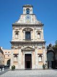 Il santuario della chiesa di Santissima Annunziata in Gaeta, Ital fotografia stock libera da diritti