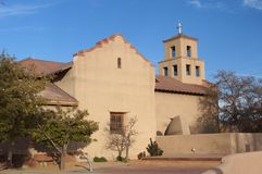 Il santuario della nostra signora Santa Fe nanometro Fotografia Stock Libera da Diritti