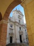 Il santuario di Loreto immagini stock libere da diritti