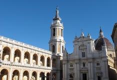 Il santuario di Loreto immagine stock