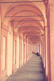 Il santuario di Madonna di San Luca fotografie stock