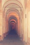 Il santuario di Madonna di San Luca fotografie stock libere da diritti