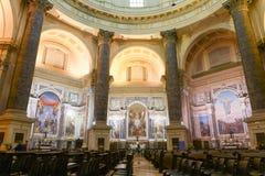 Il santuario di Oropa sull'Italia, eredità dell'Unesco immagine stock libera da diritti
