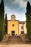 Il santuario di Puiggracios Fotografia Stock
