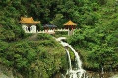 Il santuario eterno della primavera, parco nazionale di Taroko, Hualien, Taiwan immagini stock