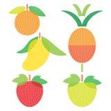 Il sapore della frutta ha messo 3 Immagini Stock Libere da Diritti
