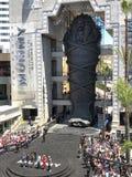 ` Il sarcofago di film del ` della mummia e l'evento di promo di Hollywood Immagine Stock Libera da Diritti
