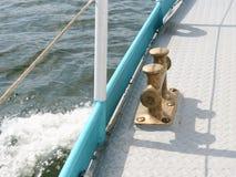 Il sartiame della nave, anatra Fotografia Stock Libera da Diritti
