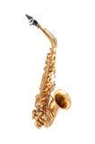 Il sassofono ha isolato Fotografia Stock Libera da Diritti