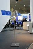 Il satellite russo all'Expo del calcolatore di CEBIT Fotografia Stock