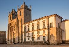 Il Se della cattedrale di Oporto fa Oporto, Oporto, Portogallo Immagine Stock