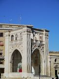 Il sedile in Lecce in Italy Royalty Free Stock Photo