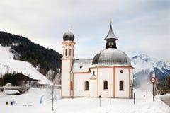 Il Seekirchl in Seefeld Fotografia Stock Libera da Diritti