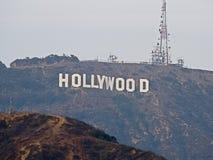 Il segno di Hollywood sul supporto Lee immagine stock