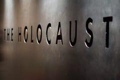Il segno di olocausto immagini stock