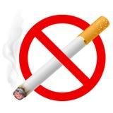 Il segno non fumatori Fotografia Stock Libera da Diritti