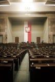 Il Sejm - il Parlamento polacco Fotografia Stock