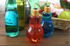 Il selz che era nella bottiglia a tubero elettrica Fotografie Stock