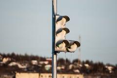 Il semaforo fotografia stock libera da diritti