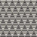 Il semitono in bianco e nero senza cuciture di vettore allinea l'impianto a scacchiera Progettazione geometrica astratta del fond illustrazione vettoriale