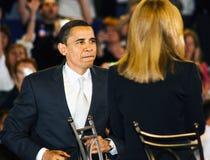 Il senatore Barack Obama Fotografia Stock Libera da Diritti