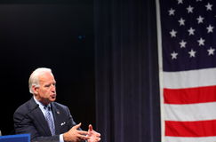 Il senatore Joe Biden Fotografie Stock Libere da Diritti