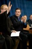 Il senatore Joe Donnelly degli Stati Uniti Immagine Stock