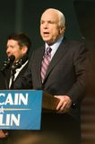 Il senatore John McCain Vertical 2 Fotografie Stock Libere da Diritti