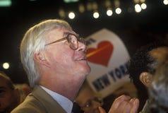 Il senatore Patrick Moynihan Fotografia Stock