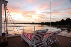 Il Senegal River_Senegal_West Africa Fotografie Stock Libere da Diritti