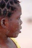 IL SENEGAL - 17 SETTEMBRE: Bambina dall'isola di Carabane Immagine Stock