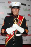 Il sergente di artiglieria Devon Van arriva al Hollywood Christmas Parade 2011 Immagine Stock Libera da Diritti