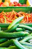 Il servizio di verdure Immagine Stock