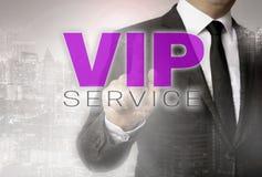 Il servizio di VIP è indicato dal concetto dell'uomo d'affari Immagini Stock Libere da Diritti