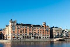 Il servizio governativo svedese Rosenbad Fotografia Stock
