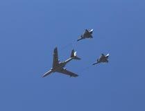 Il si occidentale di metodo anti- in mondo è in un ricordo di 70 truppe cinesi di esame dell'aeronautica di anniversario il piano Fotografia Stock Libera da Diritti
