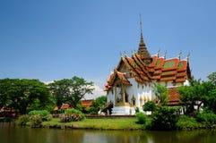 Il Siam Royal Palace antico Immagini Stock