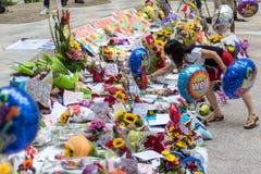 Il sig. Lee Kuan Yew di Singapore è morto il 23 marzo 2015 Immagine Stock Libera da Diritti